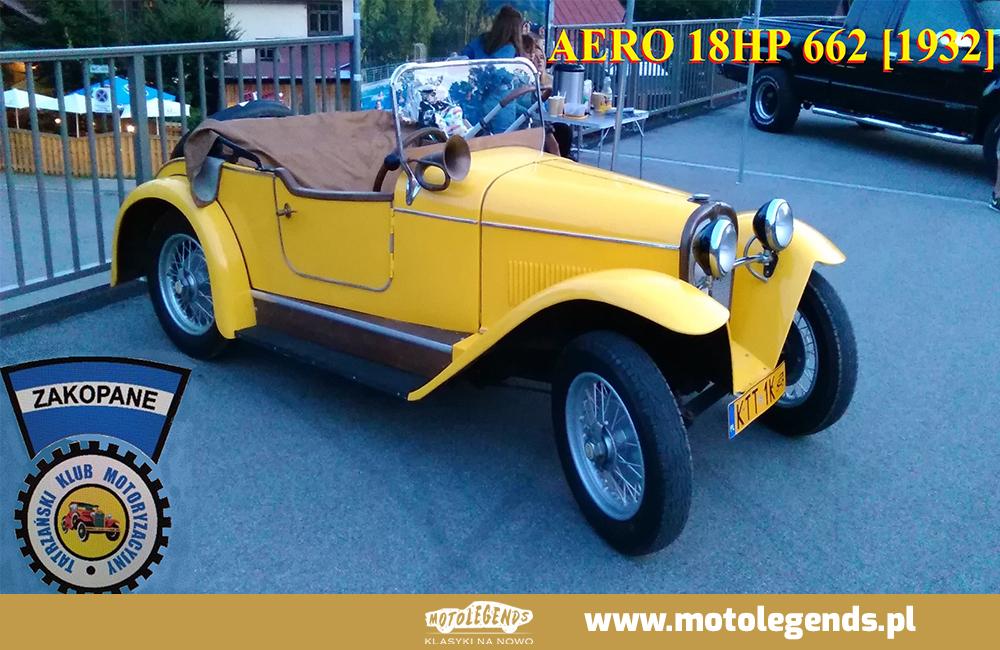 Aero 18HP 662 [1932]