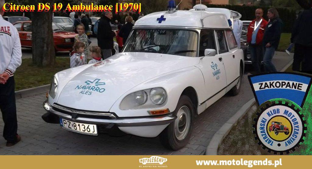 Citroen DS 19 Ambulance - Motolegends