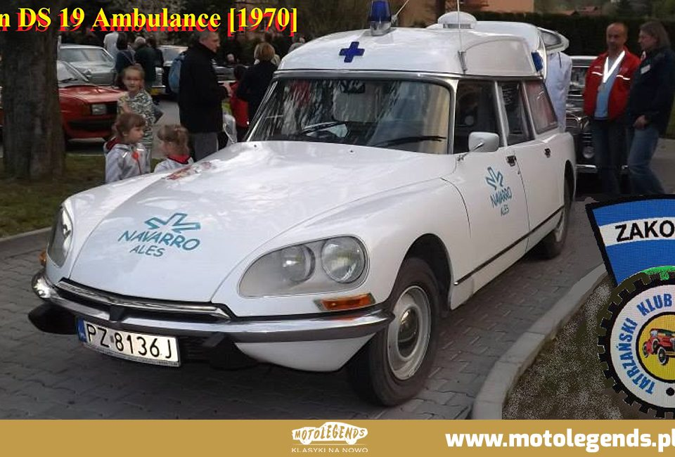 Citroen DS 19 Ambulance - Motolegends