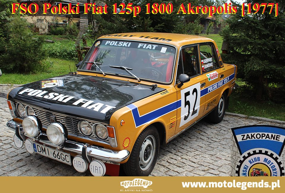 FSO Polski Fiat 125p 1800 Akropolis - Motolegends