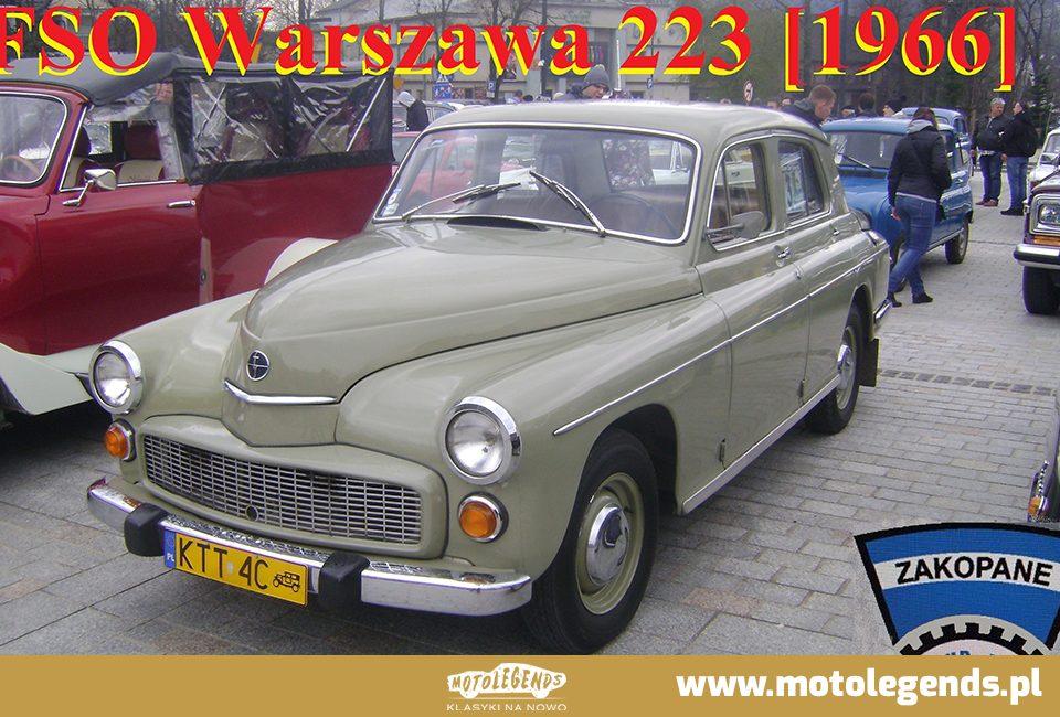 FSO Warszawa 223 [1966] - Motolegends