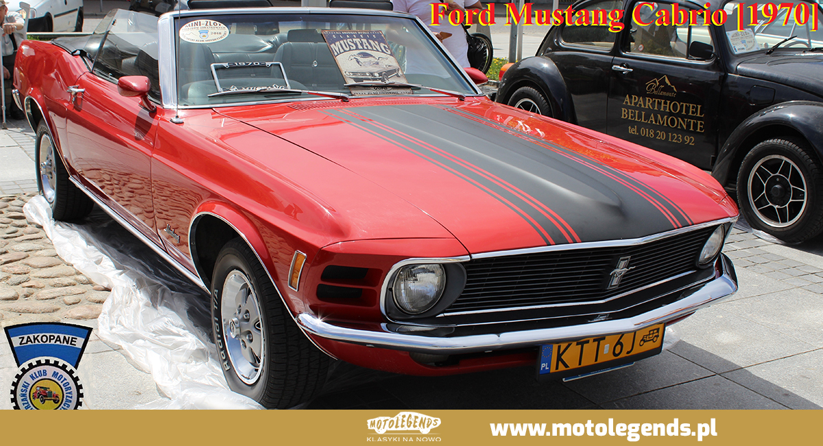 Ford Mustang Cabrio - Motolegends