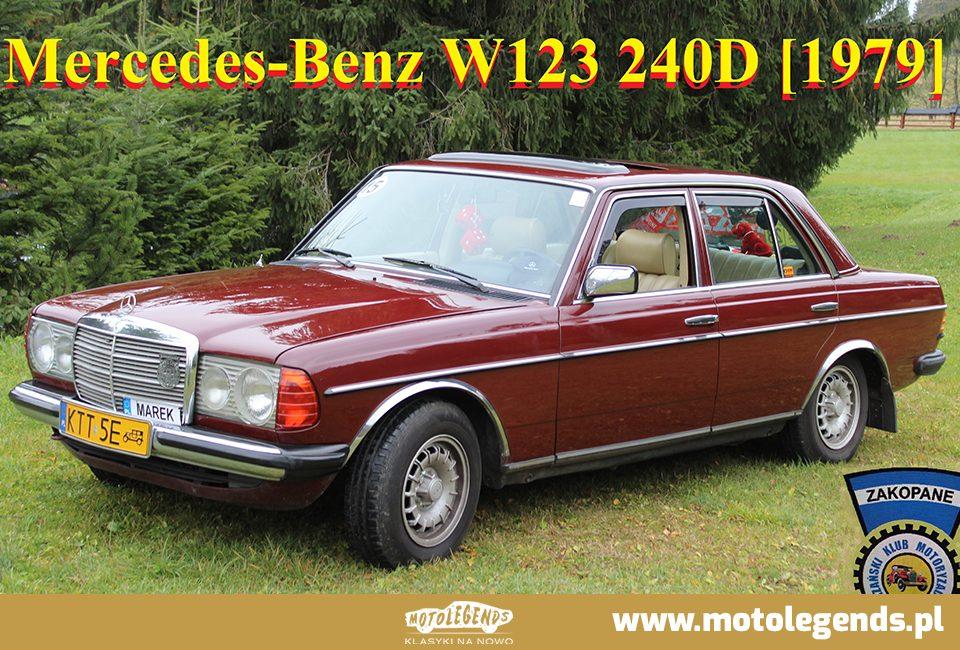 Mercedes-Benz W123 240D [1979] - Mustang